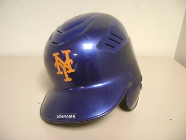 Ryota Igarashi (the original Mets) actual use helmet certificate with blue