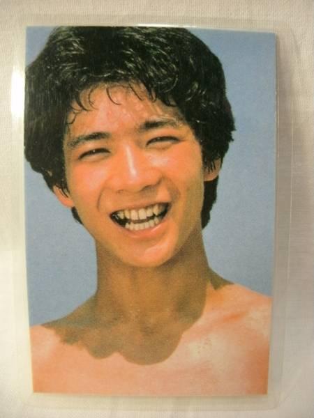 ☆田原俊彦 ラミネートカード写真☆0003