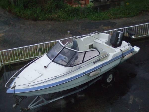 ヤンマーF221-OB、オープンボート、140馬力_画像1