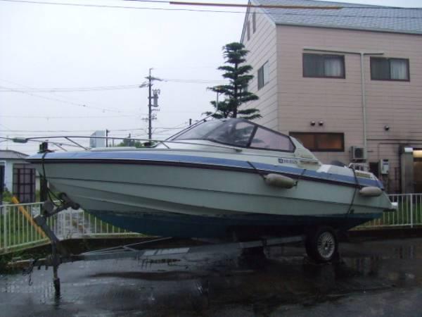 ヤンマーF221-OB、オープンボート、140馬力_画像2
