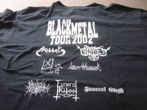 SABBAT black metal tour Tシャツ スラッシュ