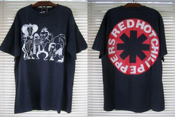 1990 レッチリ RED HOT CHILI PEPPERS Tシャツ【L】ピカソ RHCP