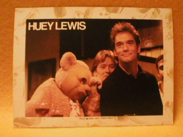 レア ヒューイ ルイス 絵葉書 バンド Huey Lewis ポスト カード