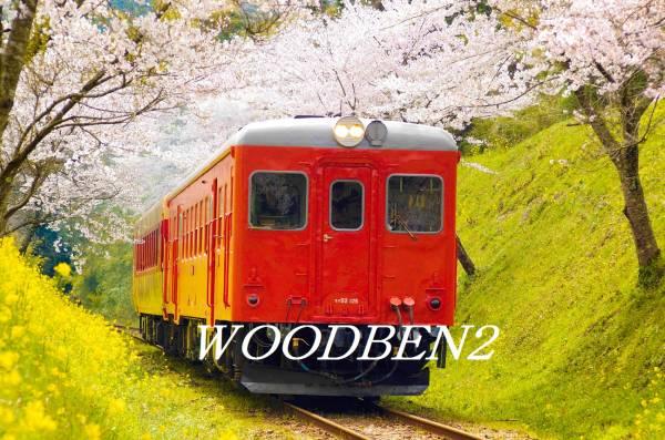 房総いすみ鉄道キハ52桜花の艶姿!A4サイズより、大伸ばしまで♪_画像1