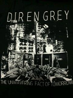 DIR EN GREY☆北アメリカTOUR2010 海外限定Tシャツ ライブグッズの画像