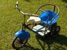 かわいらしい古い三輪車 アンティーク 乗り物玩具  1119A