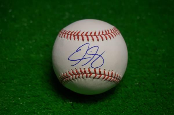 ドジャース エリック・ガニエ 直筆サインボール MLB球 グッズの画像