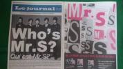 2部!即決! SMAP★タブロイド紙新聞 ☆9/3Mr.Sアルバム発売記念