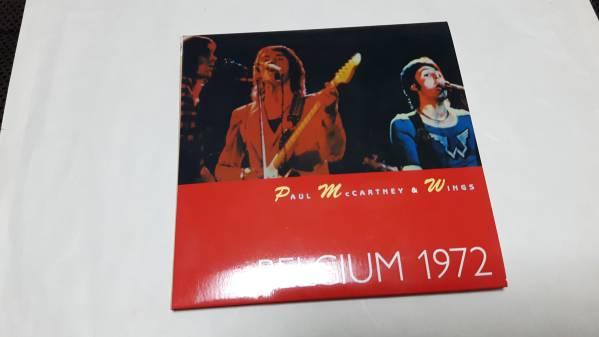 PAUL McCARTNEY&WINGS/BELGIUM 1972 紙ジャケ 2CD_画像1