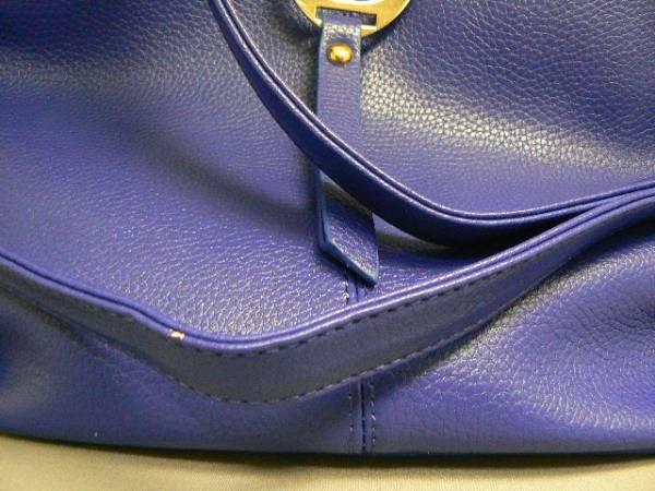 ショルダー&トート、ツーウエイバッグ、ブルー、_画像3