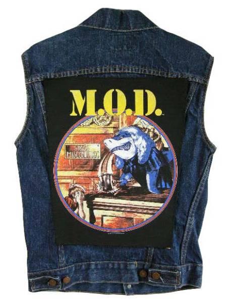 ワッペン M.O.D MOD ANTHRAX D.R.I SLAYER ZORLAC POWELL S.O.D ライブグッズの画像