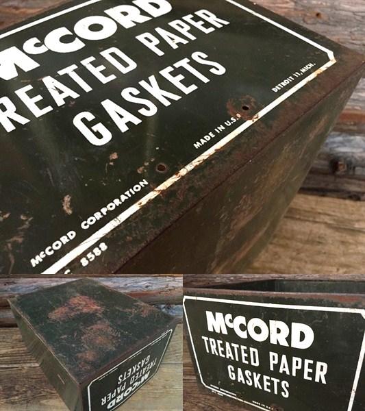 Mc CORDメタルケース/ビンテージガレージジャンク収納ボックス_画像3