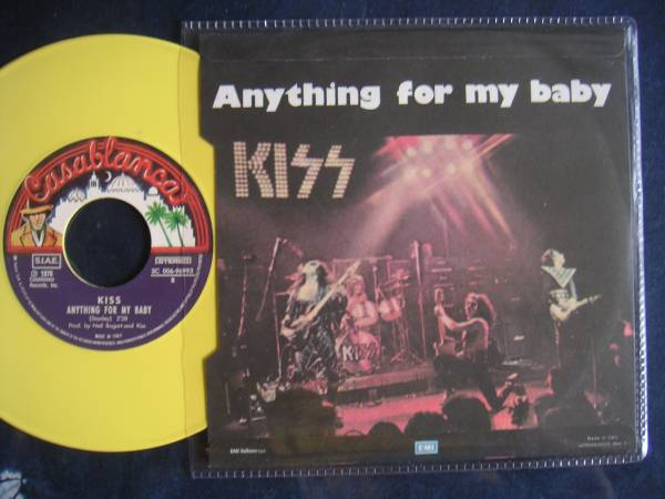 【7】KISS/ROCK AND ROLL ALL NITE(006-96993欧州製限定イタリア当時盤仕様イエローカラーヴィニール)_画像2