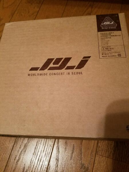 完全初回生産限定 JYJ WORLD WIDEコンサート 韓国 DVD