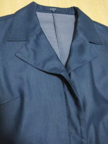 f7 ロペ rope city 上品な紺の薄手のジャケット M_画像2