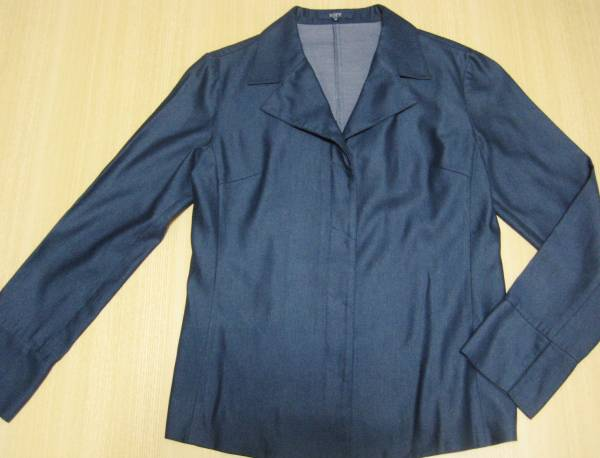 f7 ロペ rope city 上品な紺の薄手のジャケット M_画像1