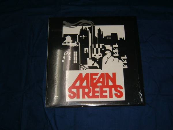 LD【ミーン・ストリート/MEAN STREETS】輸入盤