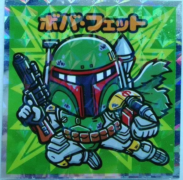 STAR WARS ビックリマン チョコ コレクターシール 4・5・6 No.12