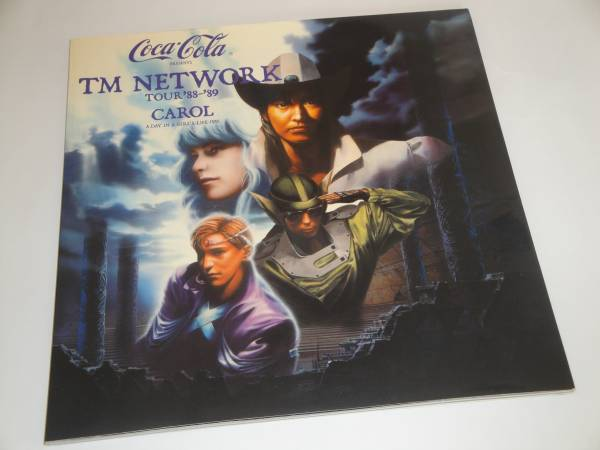 TM NETWORK/小室哲哉 tour'88-'89 CAROL パンフ