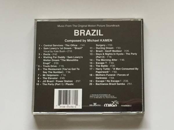 BRAZIL future century Brazil O S T / MICHAEL CAMEN USED