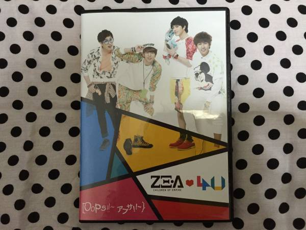 ZE:A4U★Oops!!アプサ!!【Type B】(CD+DVD)