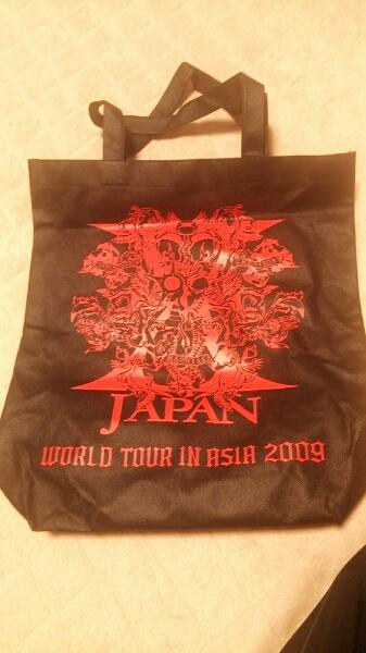 【激レア】X JAPAN WORLD TOUR IN ASIA2009☆トートバッグ☆