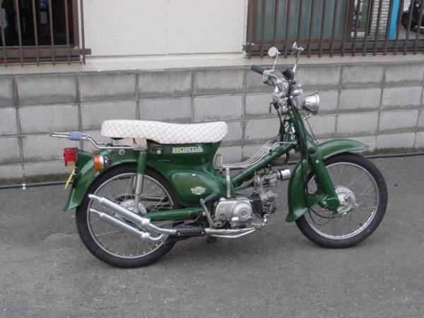 「ホンダ スーパーカブ 改 緑色」の画像1