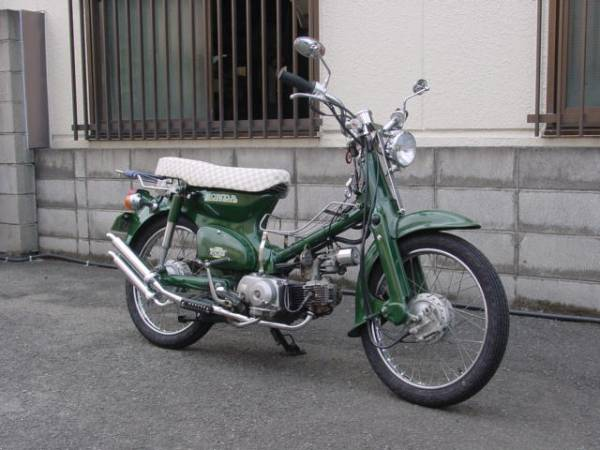 「ホンダ スーパーカブ 改 緑色」の画像2