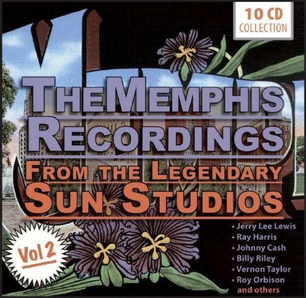 新品10CD♪メンフィス・サン・スタジオ2★ロカビリー オールディーズ_画像はイメージです