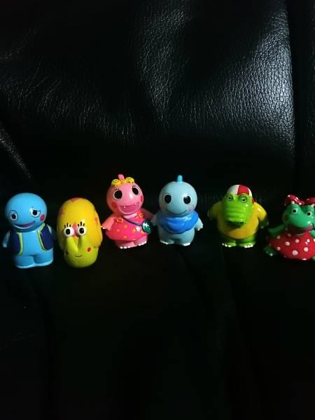 NHK/ざわざわ森のがんこちゃん/がんこちゃん/がんぺーちゃん/ツムちゃん/バンバン/チョビくん 指人形 6種類 ガシャポン