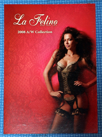 LA FELINO モデル 下着カタログ 01