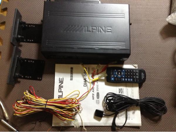★付属品多数★ アルパイン ALPINE DHA-S690 DVDチェンジャー_画像2