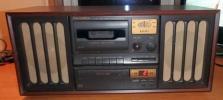 COLUMBIA(コロンビア) GP-15 レトロ調CDラジカセ AM/FMラジオ
