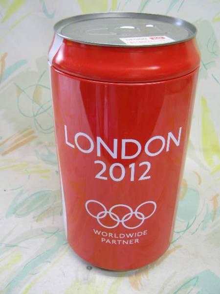 レア!CocaCola!コカコーラ!ビッグ缶!フード付タオル(KO)_画像2