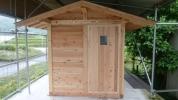 ◆◇小屋 木造組立式(片開き戸)離れ、倉庫、洗濯物干し等◇◆