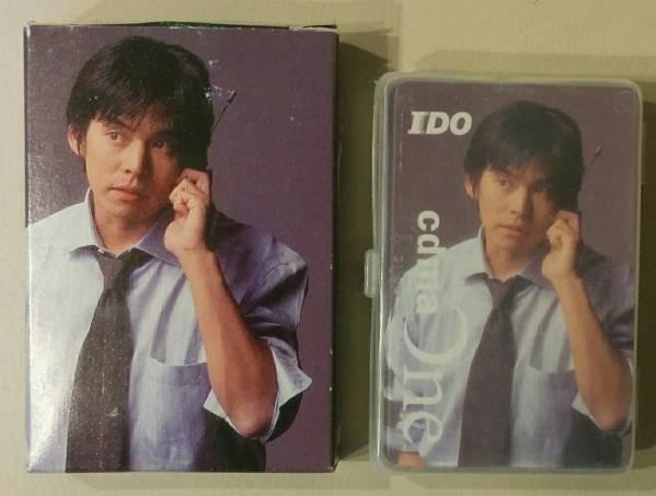 ★【非売品】IDO cdmaOne 織田裕二 トランプ