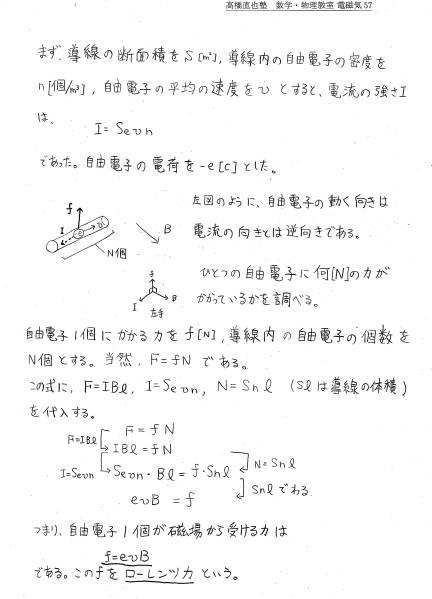 高橋直也塾 高校物理オリジナル教科書_画像1