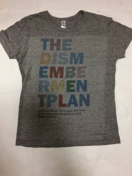 ★the dismemberrment plan Tシャツ S