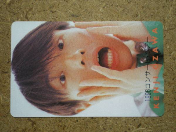 a2-69・1996 コンサート 小沢健二 テレカ