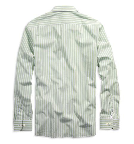 送料無料■新品■AEアメリカンイーグル■長袖ストライプシャツ_画像2
