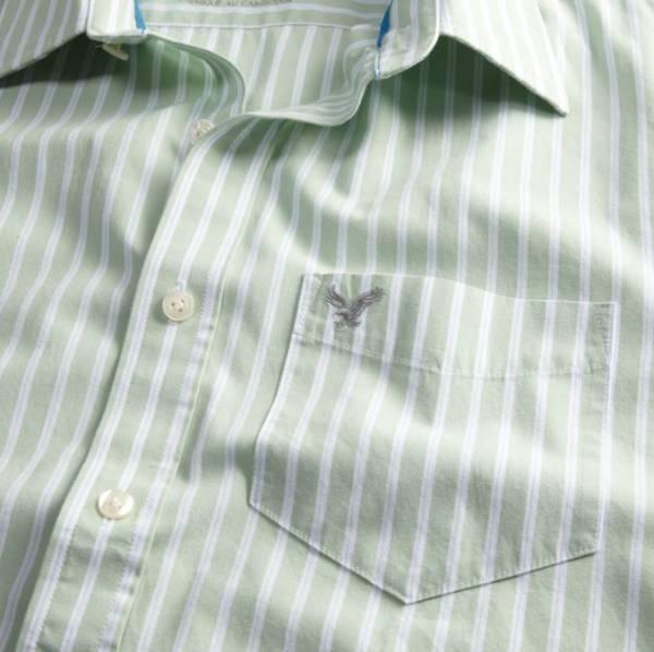送料無料■新品■AEアメリカンイーグル■長袖ストライプシャツ_画像3