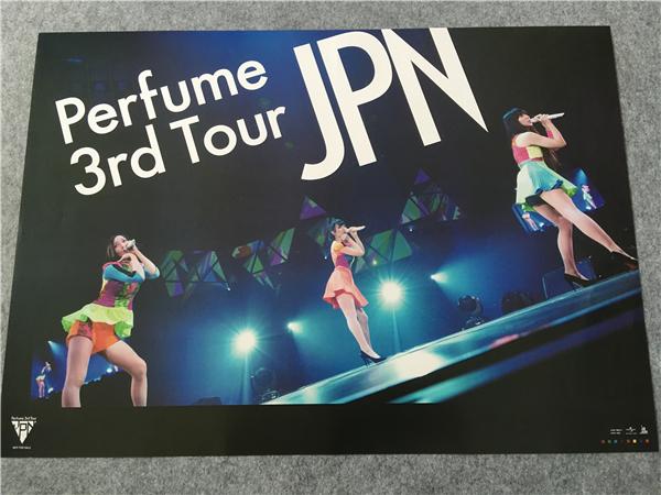 パフューム Perfume 3rd Tour JPN ポスター