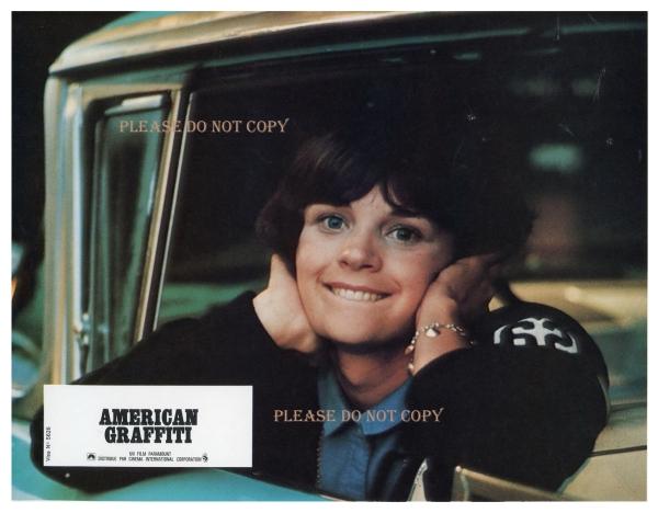 1973年 アメリカン・グラフィティ ロビーカード 2枚付き