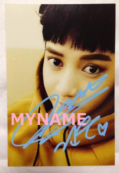 MYNAME CD★「I.M.G.」 個別 サイン会★ 生写真 直筆 【コヌ】④