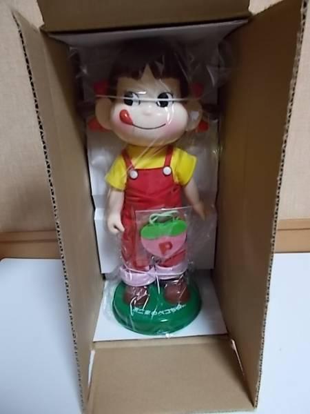 【懸賞当選】不二家 ひなまつり ペコちゃん 首ふり人形 当選書付_画像2