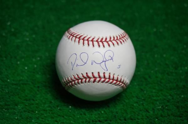 メッツ デビッド・ライト 直筆サインボール MLB球 グッズの画像