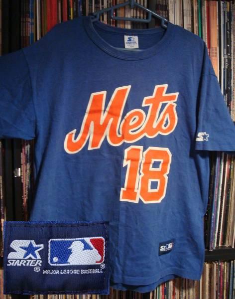 ★DARRYL STRAWBERRY Tシャツ MLB ダリル・ストロベリー NEW YORK METS ニューヨーク・メッツ メジャーリーグ 大リーグ T-SHIRT グッズの画像