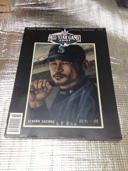 2001 メジャーリーグオフィシャルプログラム イチロー表紙