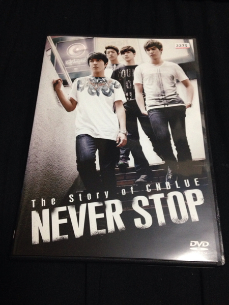 The Story of CNBLUE NEVER STOP DVD