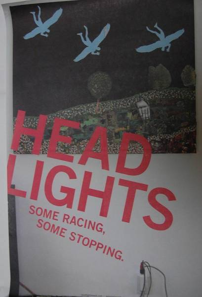 ★headlights / ポスター★rainer maria fugazi owen ida club8